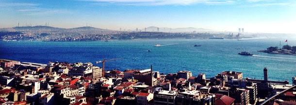 Galata Kulesi'nden İstanbul Manzarası